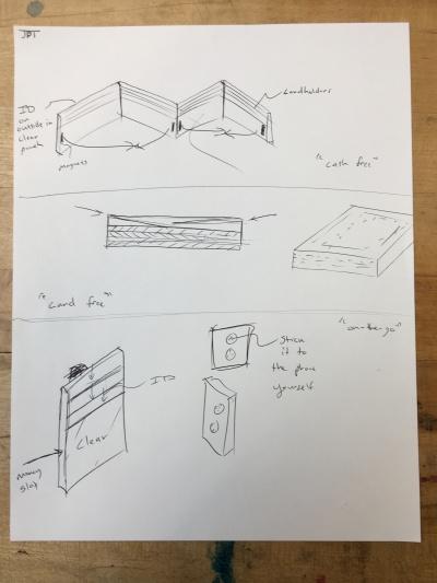 Wallet Sketches